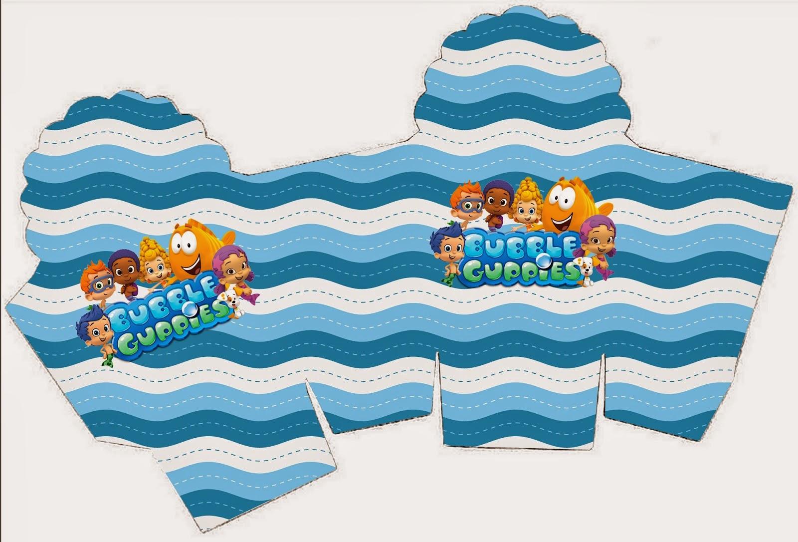 Bubble Guppies Free Printable Boxes