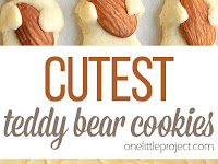 The CUTEST Teddy Bear Cookies