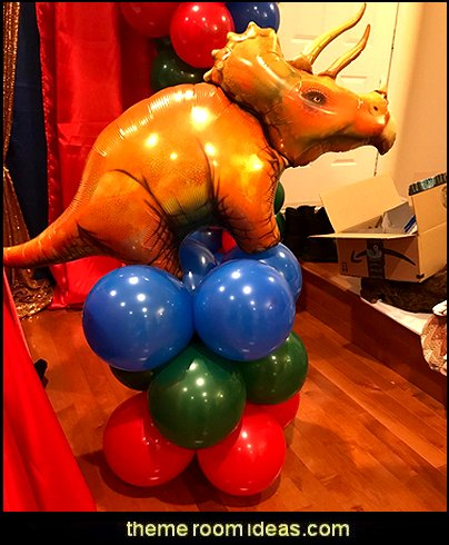 Triceratops Dinosaur balloons  Dinosaur birthday party Supplies - dinosaur party decorations - Dinosaur Party Theme - dinosaur party decoration ideas - Dinosaur Dino Party Decoration Supplies - Prehistoric Dinosaur Party  - Dinosaur Theme Kids Birthday Party Decoration