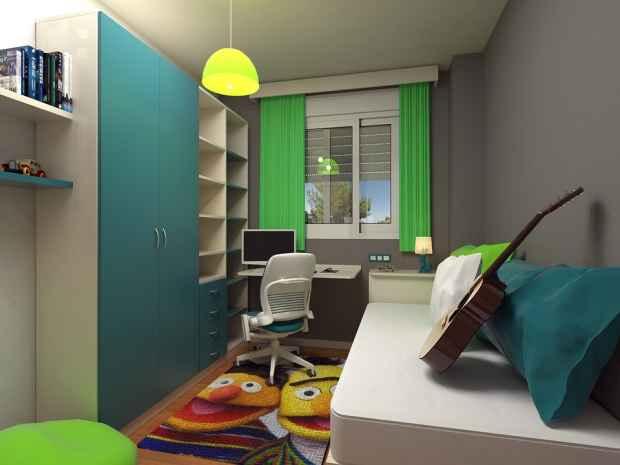 Ide Desain Kamar Tidur yang Sempit