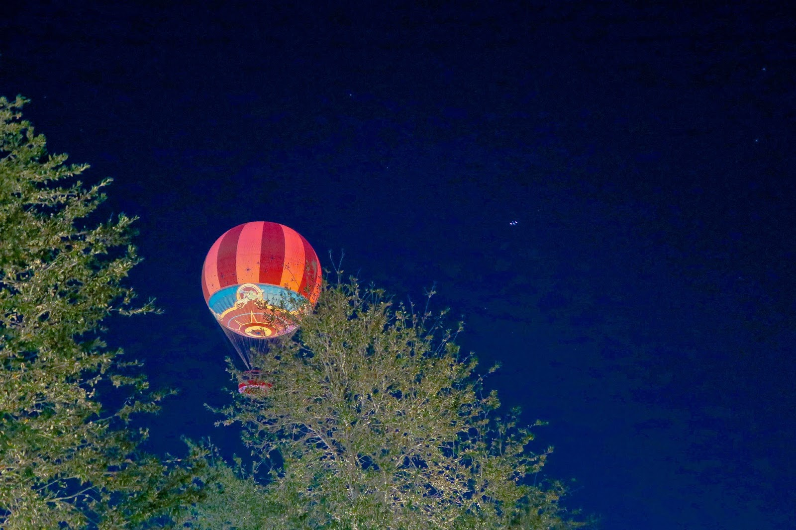 Hot air balloon ride Disney World