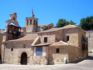 Iglesia de santa Lucía; Zamora; Castilla y León; Vía de la Plata