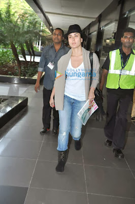 Saif Ali Khan, Kareena Kapoor & Imran Khan snapped at the airport