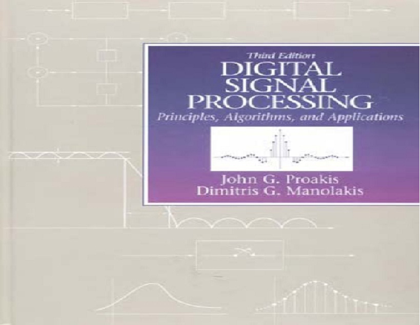 Digital Signal Processing principles Algorithms and