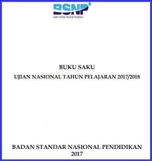 Buku Saku Ujian Nasional 2018 Resmi Dari BSNP