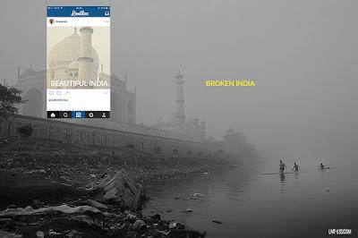 Как Instagram помогает скрыть реальность жизни в Индии