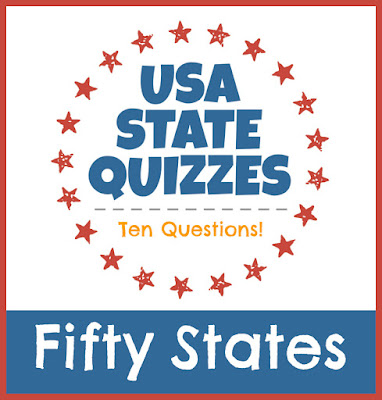 USA Facts for Kids State Quizzes