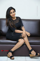 Telugu Actress Karunya Chowdary Latest Stills in Black Short Dress at Edo Prema Lokam Audio Launch .COM 0244.JPG