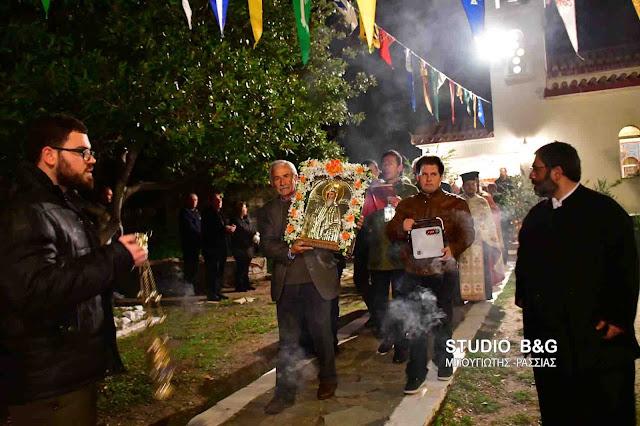 Γιόρτασαν τον Άγιο Αντώνιο στο Λυκοτρούπι Αργολίδας (βίντεο)