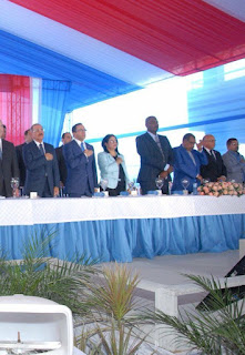 Danilo Meidina inaugura Liceo Luìs Bremòn en  Yaguate