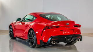 2020 Toyota Supra sports car