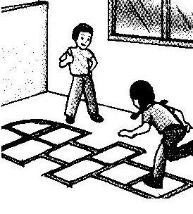 Lengkap Sejarah Langkah Aturan Dan Gambar Permainan Tradisional Engklek Untuk Makalah
