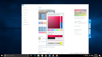 Windows 10 Creator Update  Accent Color