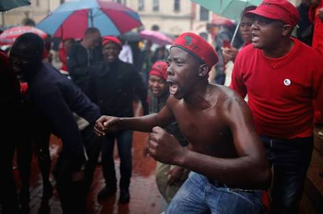 """""""I see plenty of land, you can have it"""" ~Malema promised should his party ascend to power."""