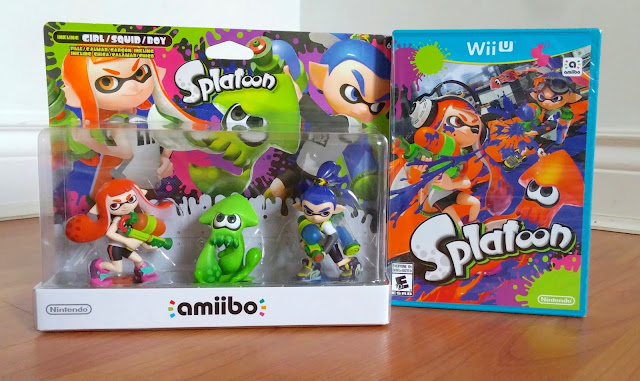 Splatoon For Nintendo Wii U and Amiibos
