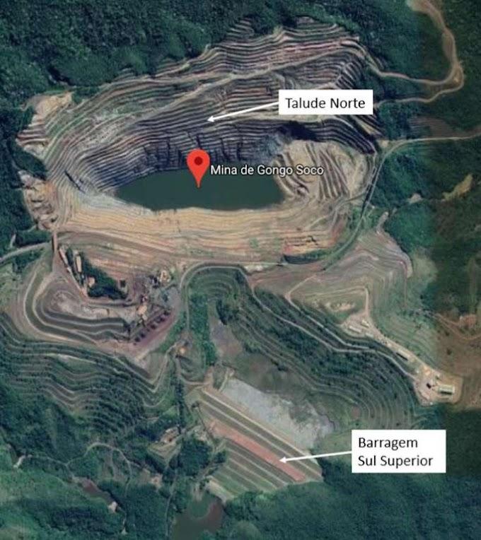 Barragem de rejeitos pode se romper a partir de hoje em Minas Gerais