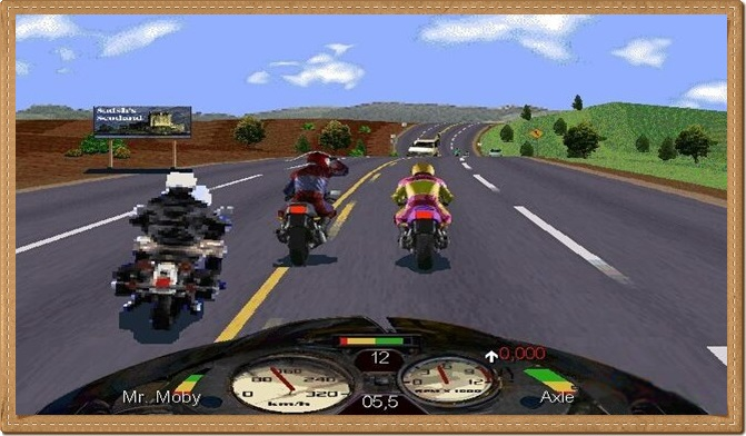 Road Rash PC Gameplay