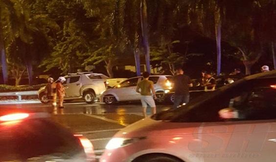 [Gambar] 3 Maut, 3 Cedera Termasuk Seorang Jurukamera RTM Akibat Ditembak Di Pulau Pinang