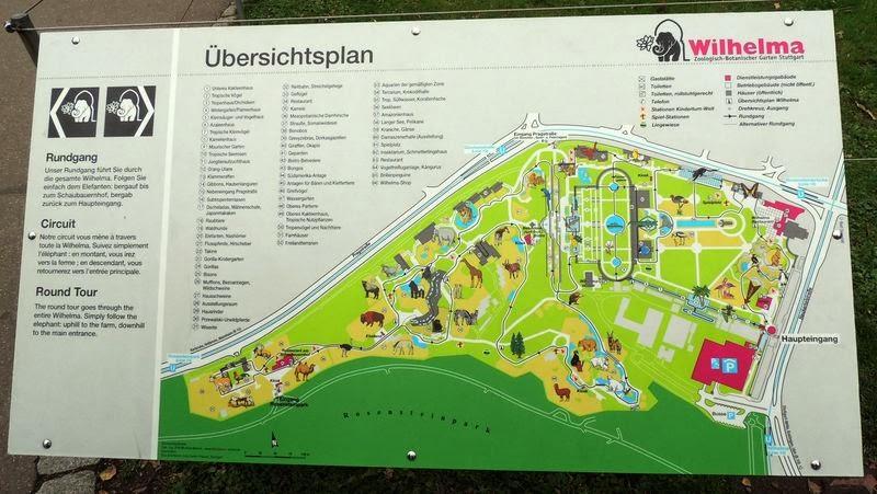 Plan Wilhelma