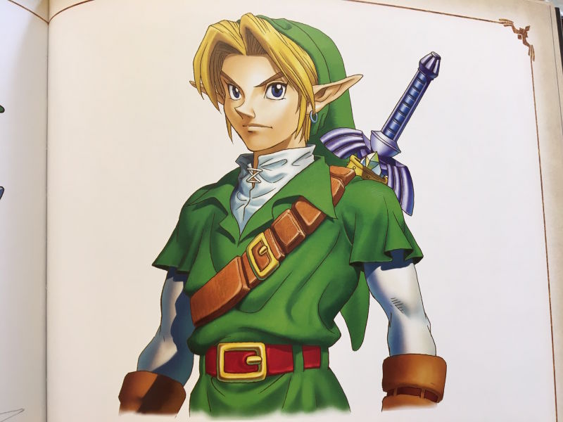 El diseño de Link de The Legend of Zelda: Ocarina of Time se basó en un actor famoso