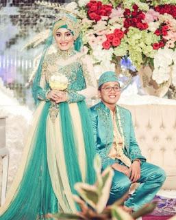 Baju pengantin muslim pesta pernikahan