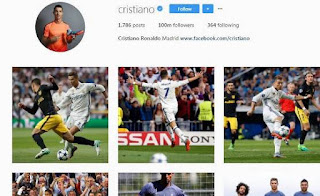 Christiano Ronaldo Becomes The First Man To Hit 100Million Followers On Instagram 2