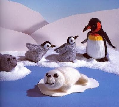 pingouin au tricot