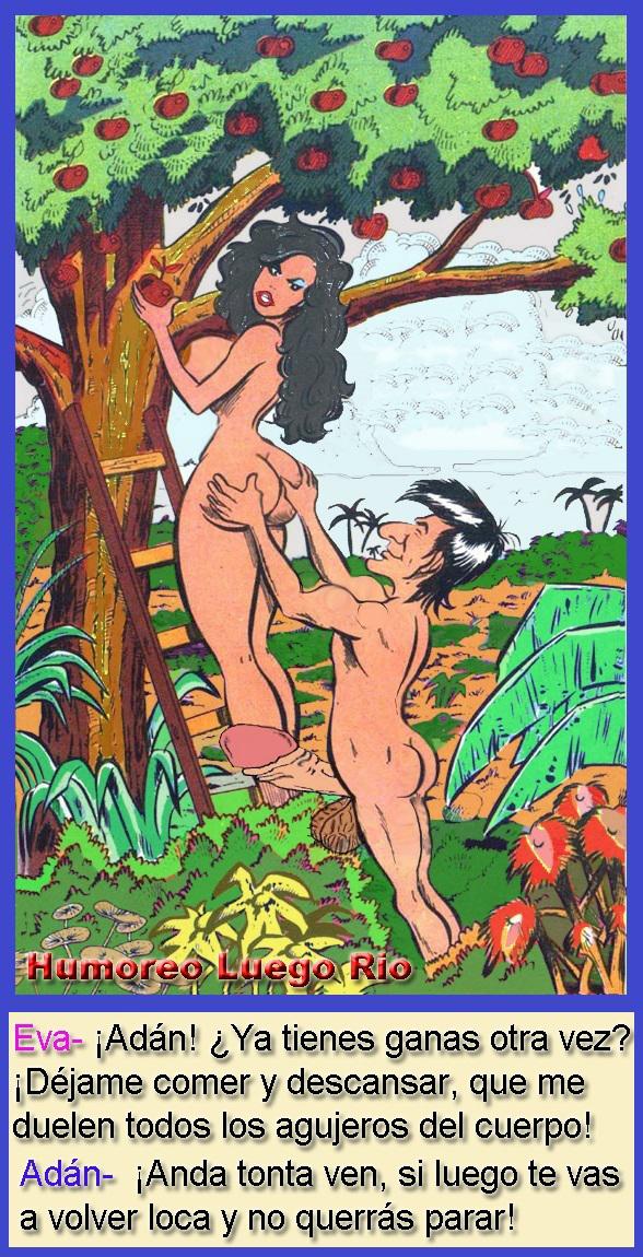 El paraíso de Adán y Eva
