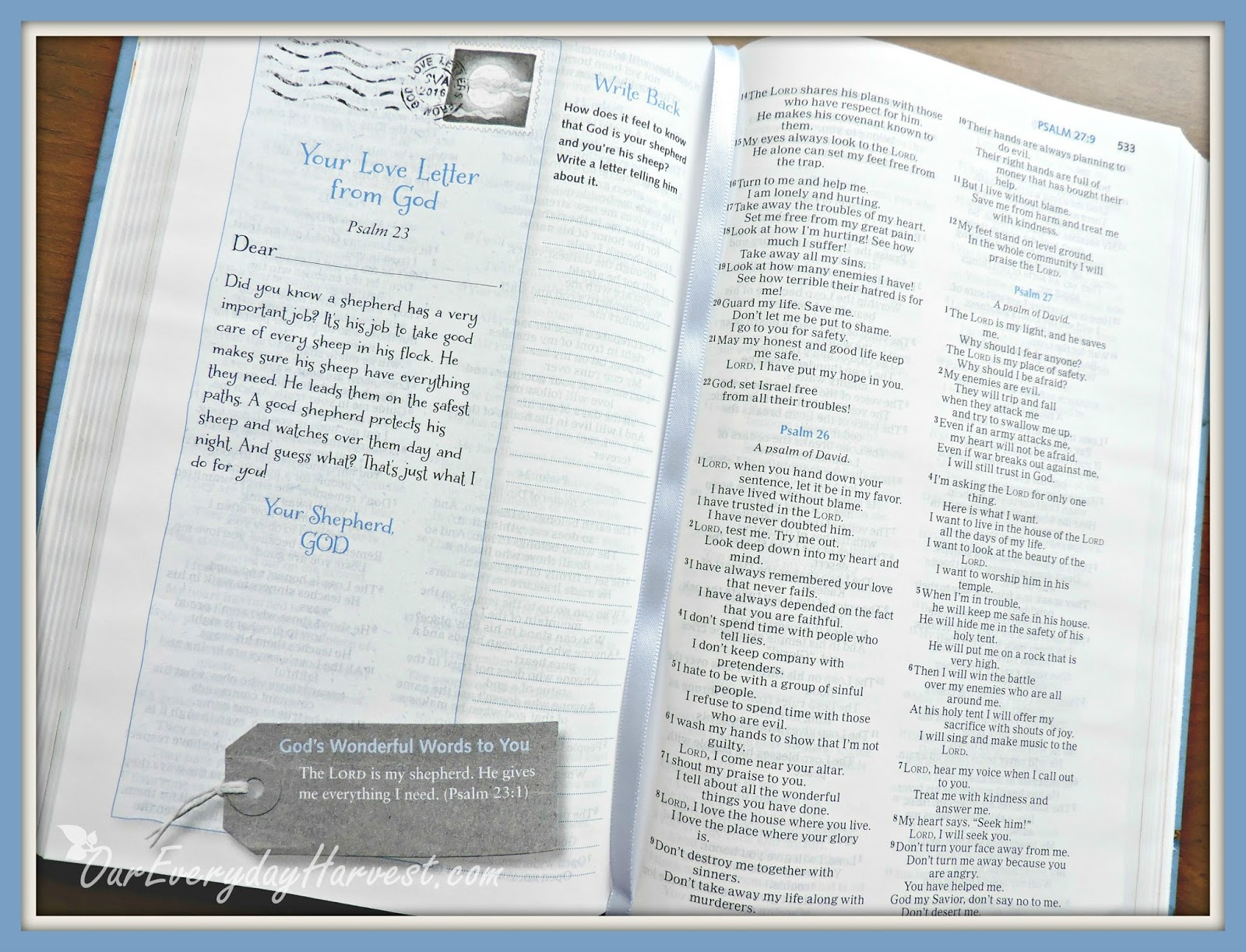 Love Letters from God Holy Bible by Glenys Nellist