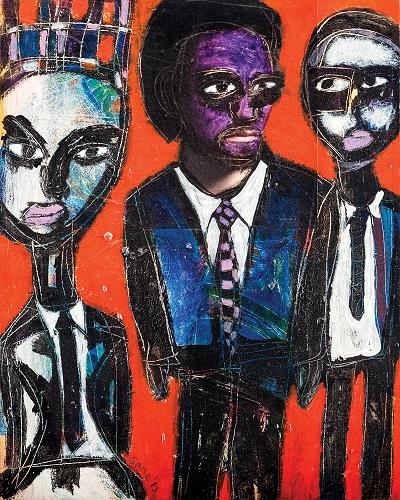 """by Eria 'Sane' Nsubuga - """"The Stare Down"""", 2015"""