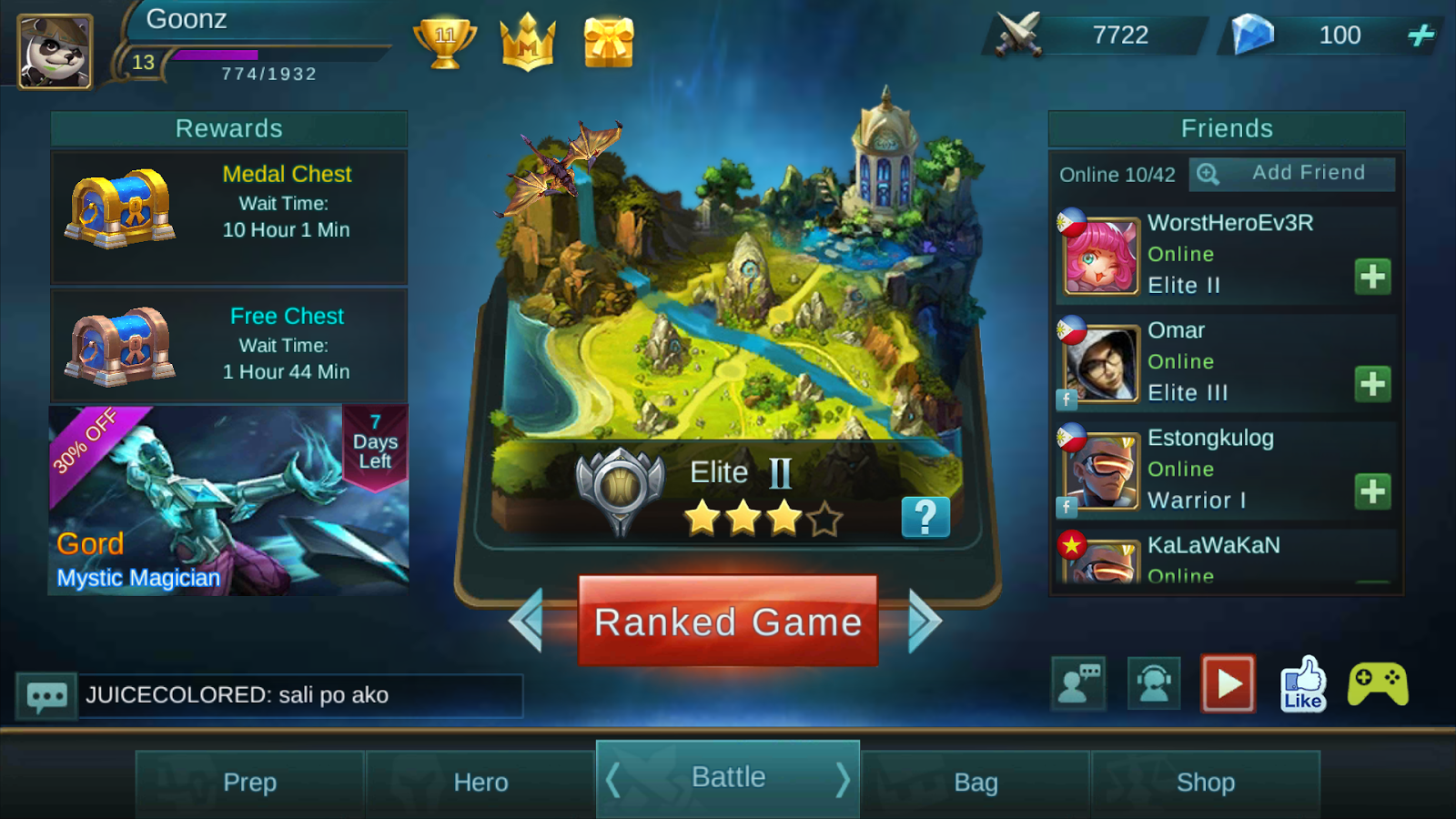 Mobile Legends Tips and Tricks: How to change Moblie Legends