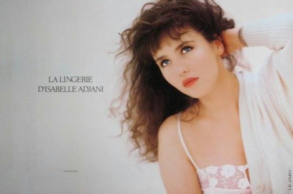 Publicité Maison Lejaby Isabelle Adjani