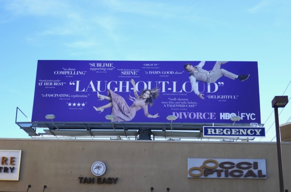 Divorce season 2 HBO FYC billboard