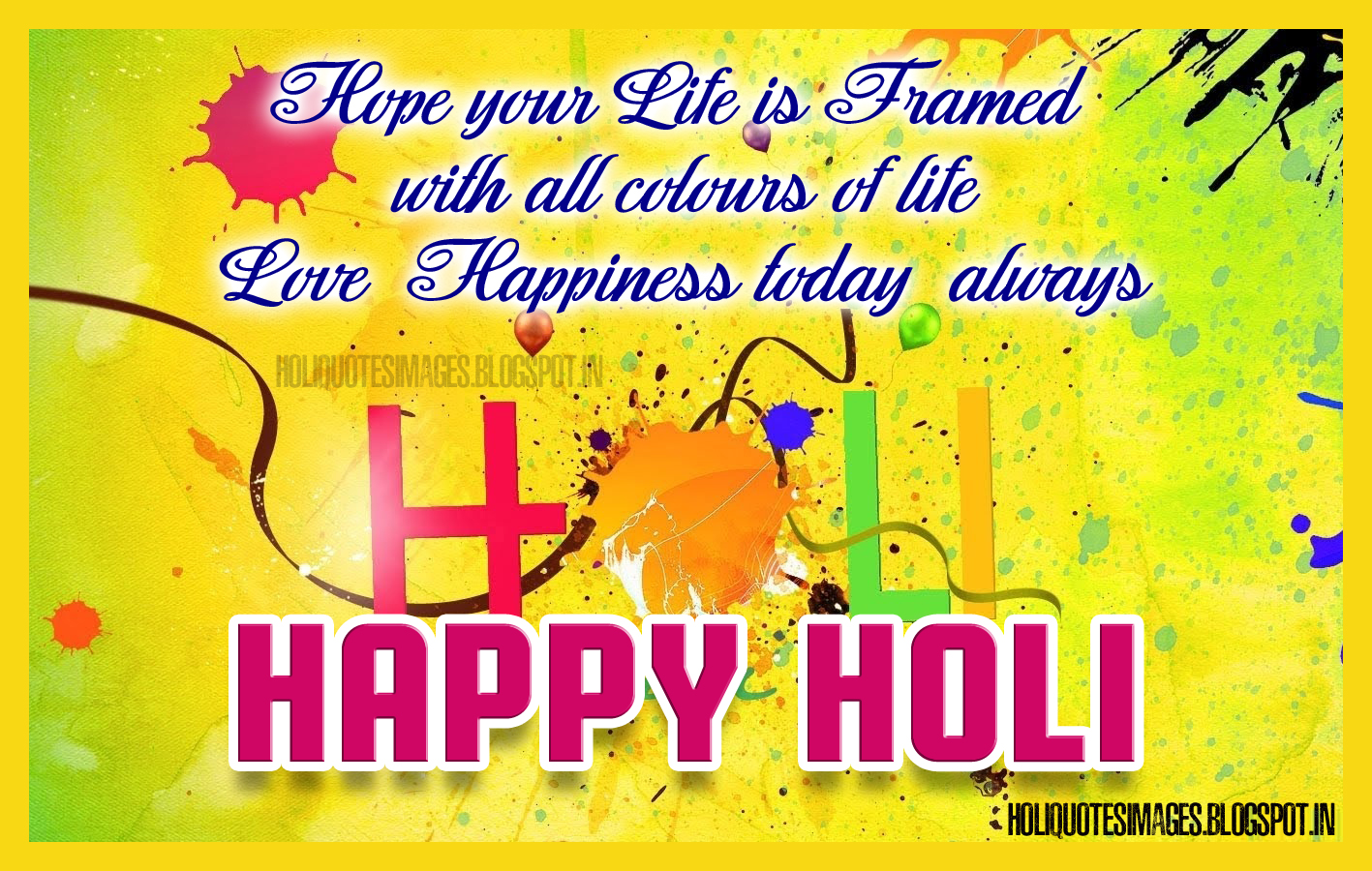 Happy Holi Quotes Images And Greetings Hd Wallpapers Free Downloads