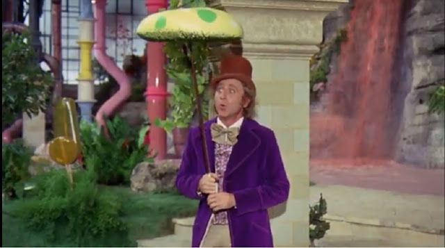 Gene Wilder as Willy Wonka in Willy Wonka & the Chocolate Factory