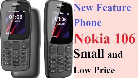 "New Feature Phone ""Nokia 106"" 21 dino ki Battery Backup ke saath"