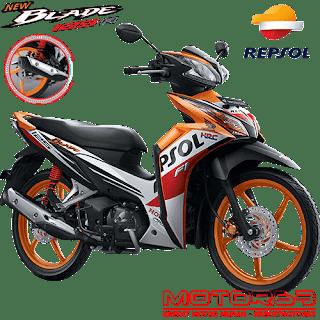 Kredit Motor Honda Blade 125 FI Repsol