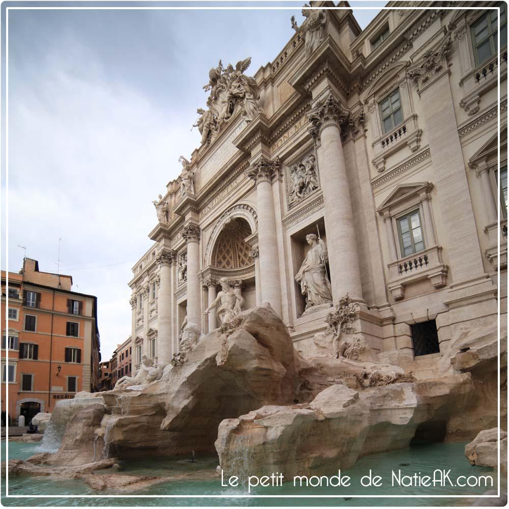 La Fontaine de Trévi de Rome