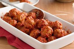 Make-Ahead Italian Meatballs barka da sallah