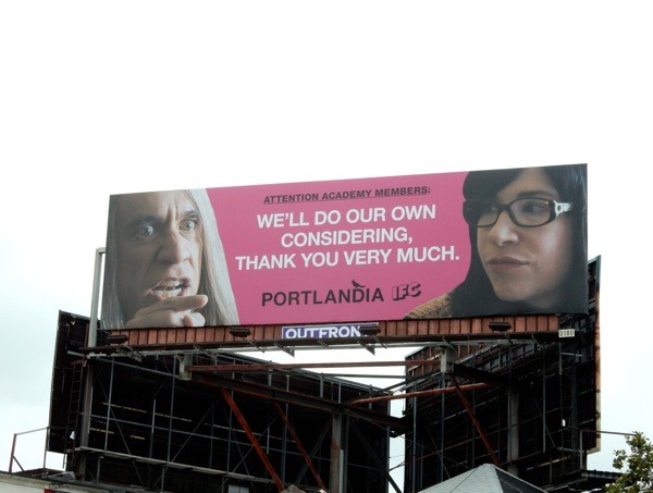 Portlandia Emmy 2015 billboard