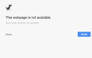 Bermain Game Di Google Chrome Ketika Koneksi Internet bermasalah
