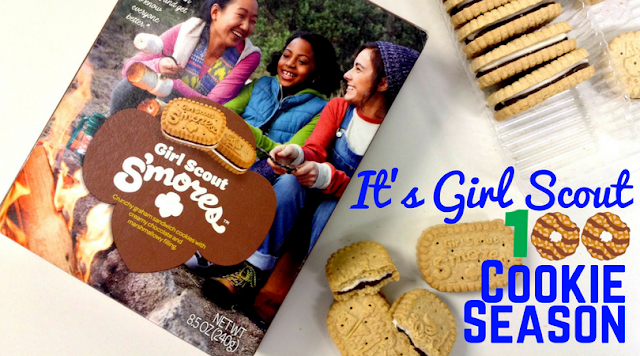 100 Years! Girl Scouts Debuts S'mores Cookies