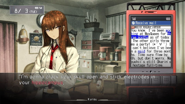 STEINS GATE PC Free Download Full Screenshot 1