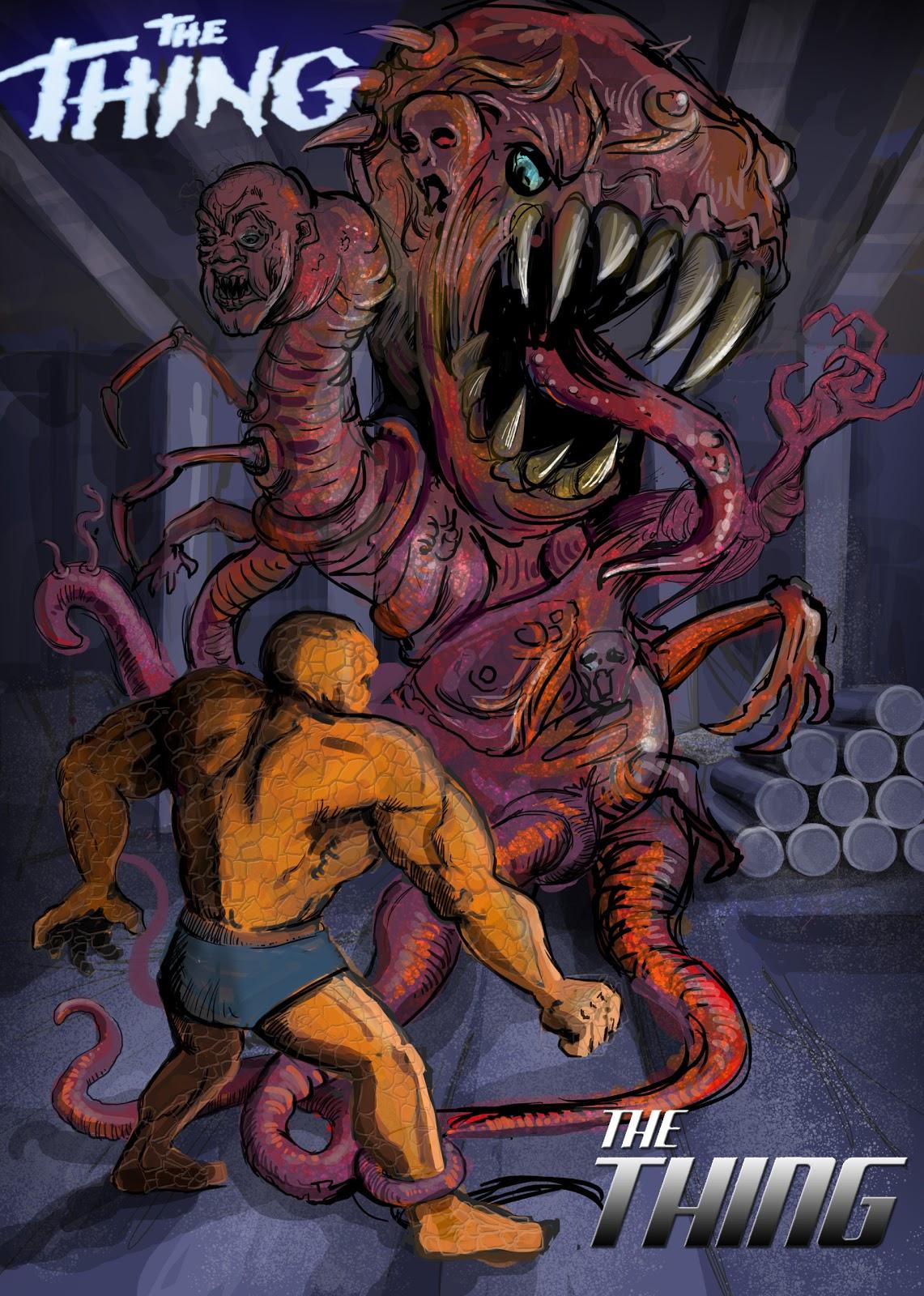 The Thing vs The ThingXenomorph Vs The Thing