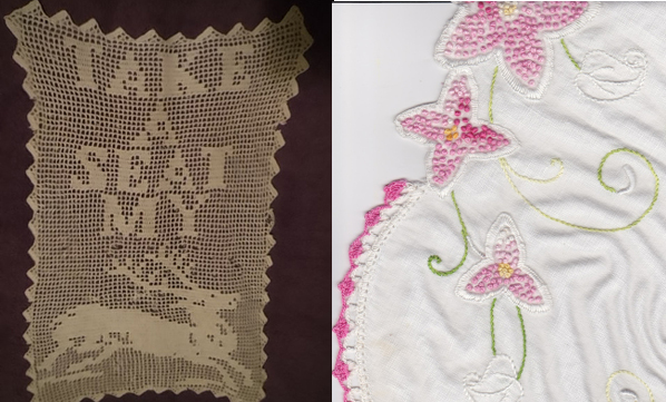 A history of crochet part 1 filet crochet chair back take a seat my dear and embroidery table runner ccuart Gallery