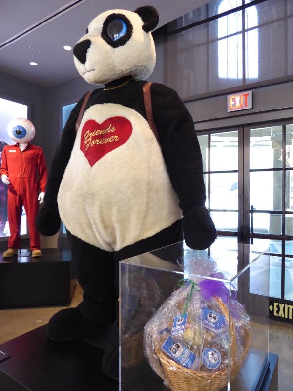 Panda Man Suicide Squad movie costume