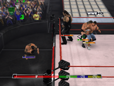 gratis smackdown vs raw