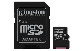kingston canvas classe 10 128gb micro sd memory ingrosso