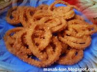 Gambar Kue kering akar kelapa