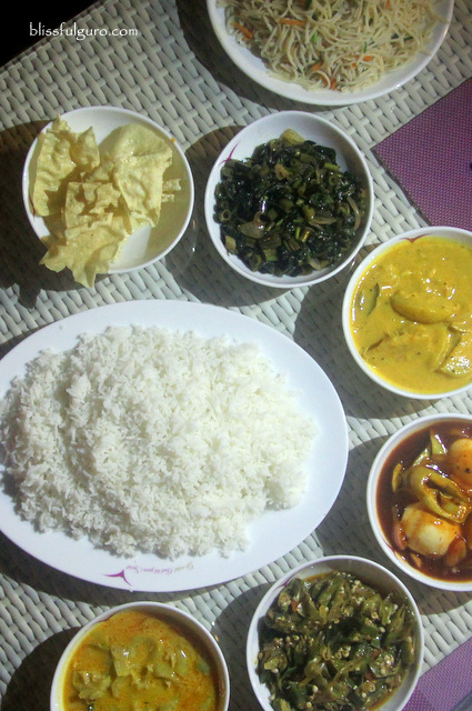 Sri Lankan Food Rice And Curry